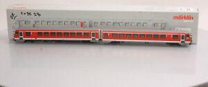 Marklin 37762 HO Scale Digital Diesel Railcar Train LN/Box