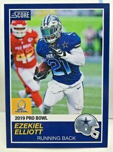 new concept a7694 bc735 Details about Ezekiel Elliott 2018 Panini Instant #22 NFL 2019 Pro Bowl  Score SP /270 COWBOYS