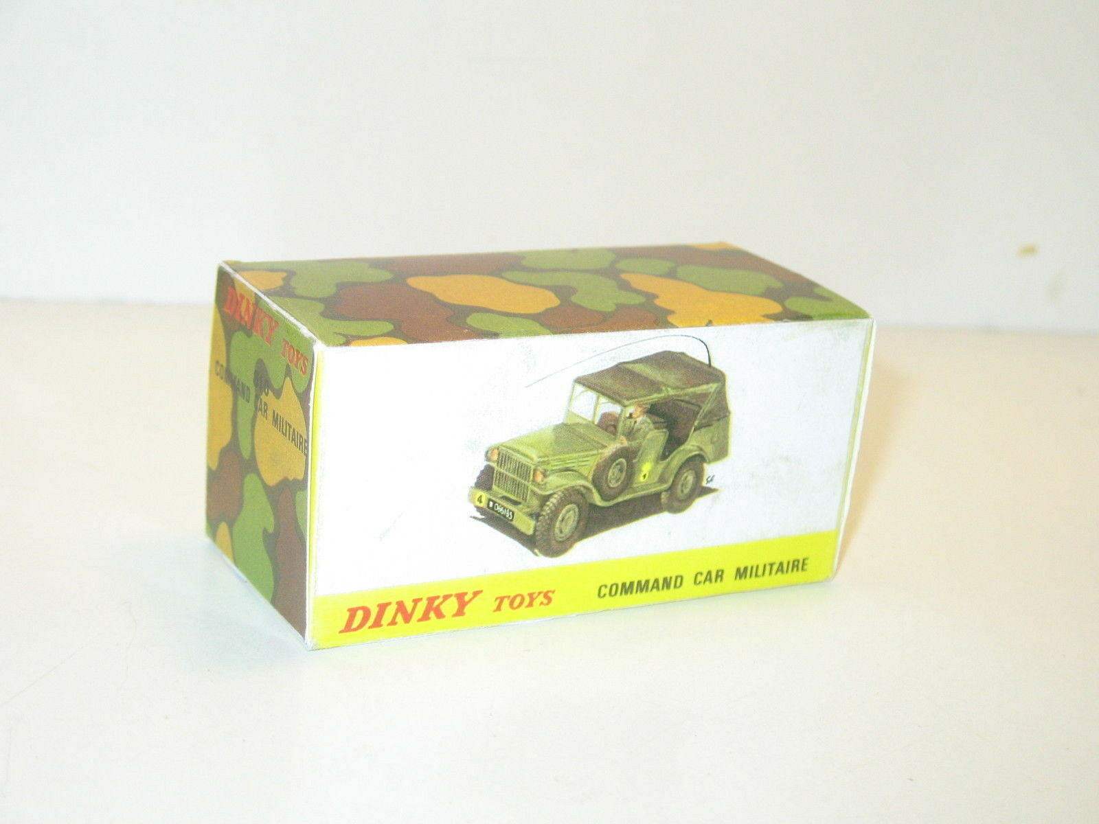 N30, box Command car dodge wc 56 military, bt repro DINKY toys ref 810