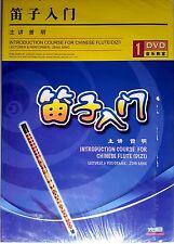 DVD Apprendre Dizi flute-Learn Dizi- lernen-imparare-aprender-instrument chinois