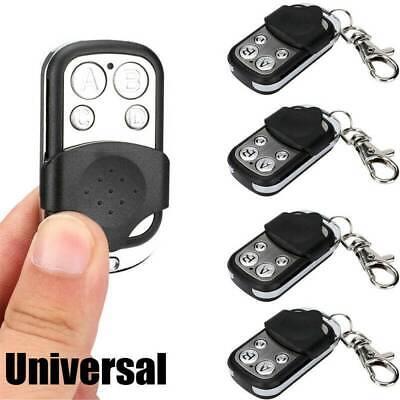 2pcs Chamberlain Key Chain Remote Garage Door Opener Transmitter Learn Button