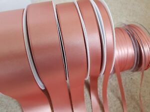 Berisfords-ROSE-GOLD-9792-Double-Faced-Satin-Ribbon-3mm-to-70mm-weddings