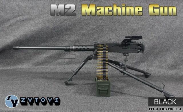Desert M2 Machine Gun Set - 1//6 Scale ZY Toys Action Figures New in Box