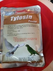 TYLOSIN TYLOFORT Powder for all Animals Birds, Pigeons,Chickens  100g exp. 08/22