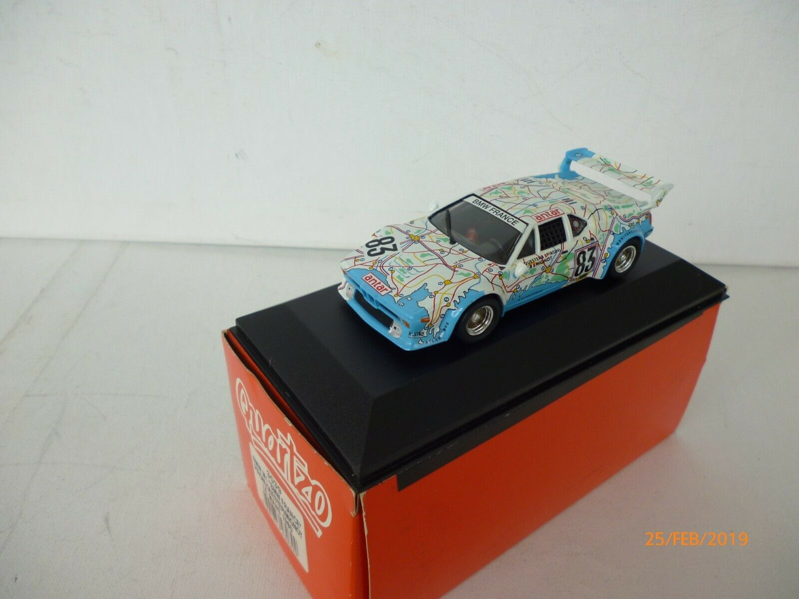 QUARTZO 3039  BMW M1 FRANCE PIRONI MIGNOT MIGNOT MIGNOT LE MANS 1980 1 43 NEW OVP 9a1f7b