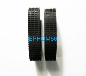 2pcs new zoom rubber for nikon af s nikkor 24 85mm f 3 5 4. Black Bedroom Furniture Sets. Home Design Ideas