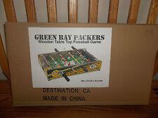 Item 6 NFL Green Bay Packers Table Top Foosball, Green/Yellow/White,  20 Inch (new)  NFL Green Bay Packers Table Top Foosball,  Green/Yellow/White, ...