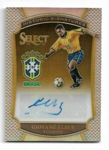 2016-17 Panini Select Soccer Autograph Auto Card :Giovane Elber #151/199