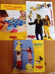 HABA 3 PROSPEKTE Älter Sammler HABA - Beverungen, Deutschland - HABA 3 PROSPEKTE Älter Sammler HABA - Beverungen, Deutschland