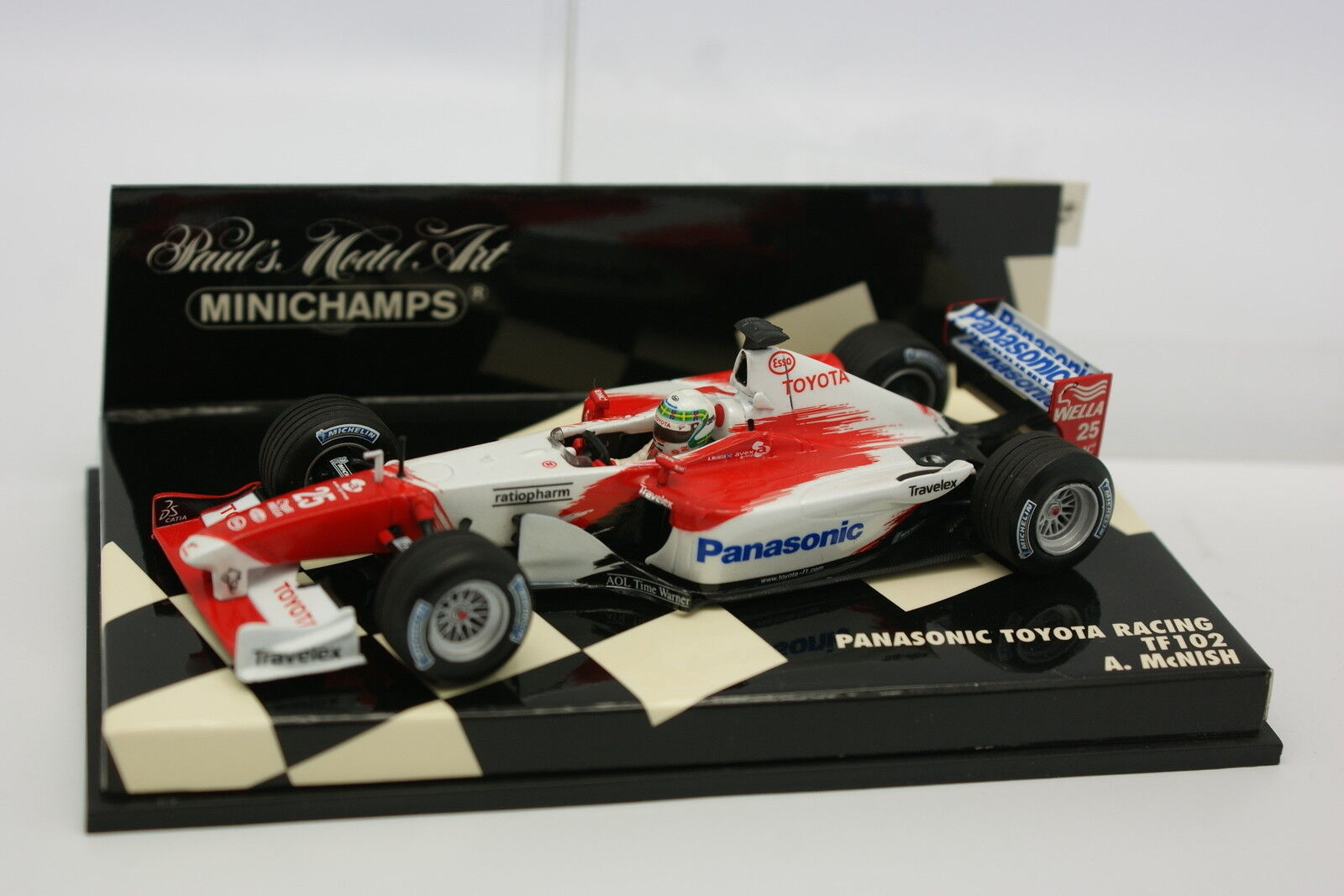 Minichamps 1 43 - F1 Panasonic Toyota Carreras TF102 McNish