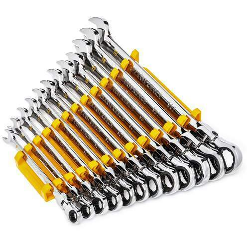 Gearwrench 90-Tooth 12-Point Flex Head Ratcheting Combination Metric Wrench Set . Buy it now for 154.49