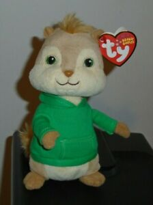 Nm St Ty Beanie Baby Theodore Chipmunk From Alvin And The Chipmunks Nm 8421408016 Ebay