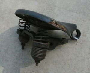 Antique-Heavy-Duty-Springs-Bike-Bicycle-Seat