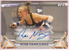 ROSE NAMAJUNAS 2016 TOPPS UFC KNOCKOUT AUTOGRAPH #/249 AUTO SIGNED