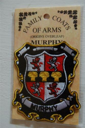 Crest Embroidered Badge MURPHY Family PATCH Heraldic Coat of Arms