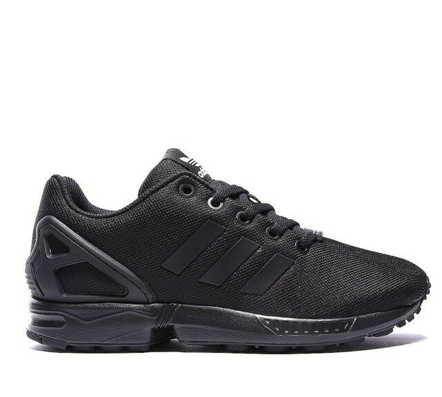 uk availability 6b71a c8168 adidas ZX Flux J Older Kids UK 5.5 EU 38 2/3 Black Ortholite SNEAKERS  Trainers