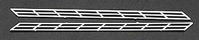 NEW Plastruct Stair Rail Styrene (2) N 90691