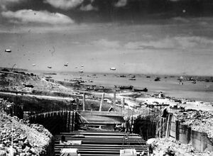 8x6-Gloss-Photo-ww8C9-Normandy-D-Day-Omaha-Beach-Wn-64-Colleville