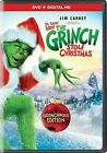 Dr. Seuss' How The Grinch Stole Christmas DVD Digital Copy With Movie C