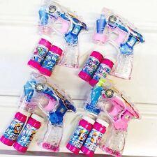10 x Seifenblasenpistole mit LED Seifenblasen Fisch Bubble Gun Batterie gratis