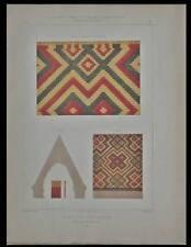 LA BENISSON-DIEU, EGLISE, TUILE VERNISSEE - LITHOGRAPHIE 1855-COUVERTURE