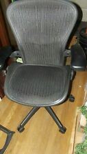Herman Miller Aeron Chair Size B Good Condition New Heavy Duty Cartridge
