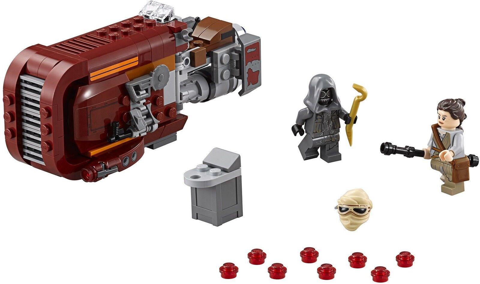 LEGO STAR WARS 75099 Rey's Speeder NUEVO     NEW 3f146f