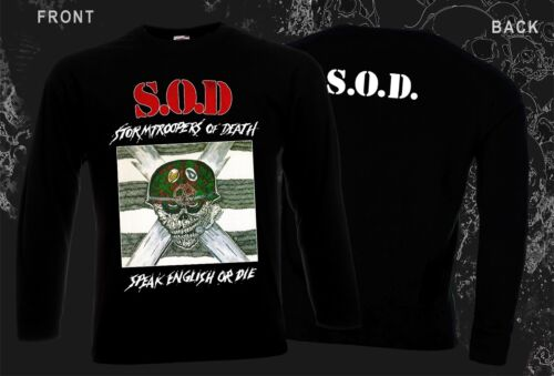 -Speak English or Die,T-shirt long sleeve-S to XXL STORMTROOPERS OF DEATH-S.O.D