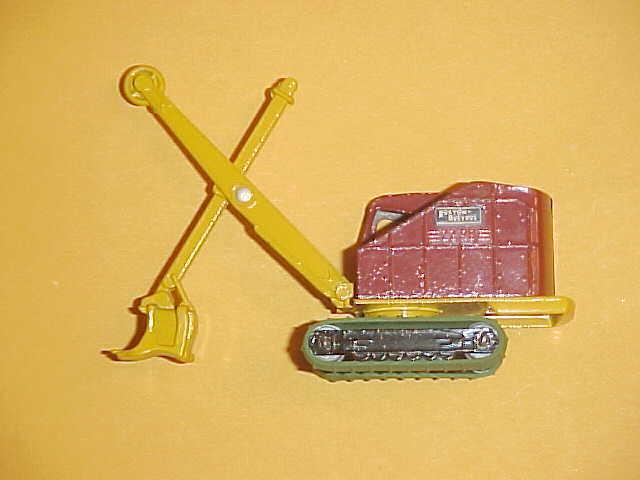 Matchbox MOKO No.4 Major Pack Crane