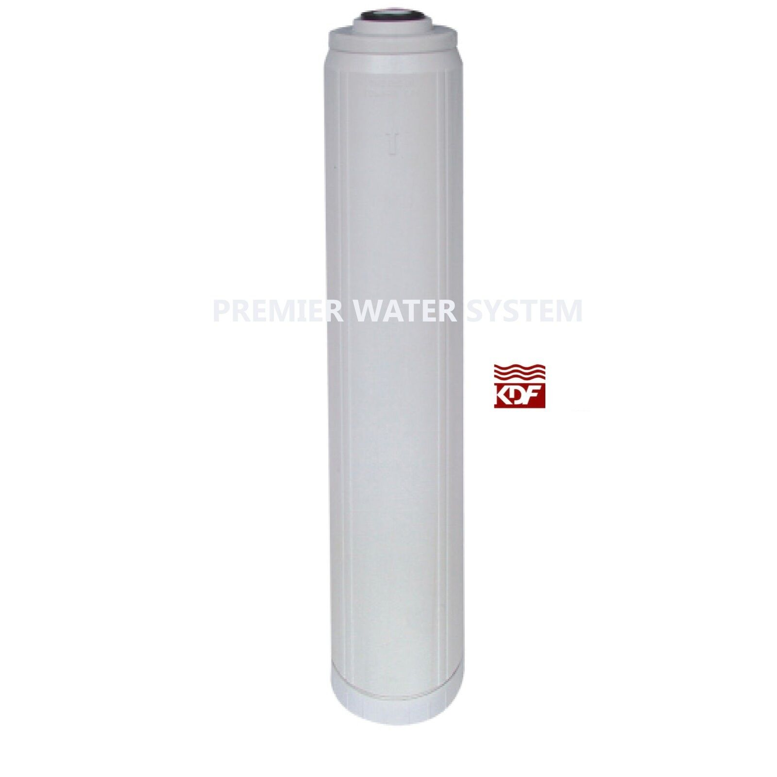 BIG blueE 20  HOUSING WATER FILTER CARTRIDGE   KDF 55 + GAC   20  x 4.5  FILTER