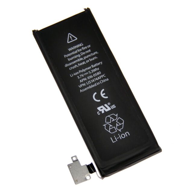 0f6d845bc2b IPHONE 4S 4gs Marca Original Batería de Repuesto 1430mah 616-0579 616-0580