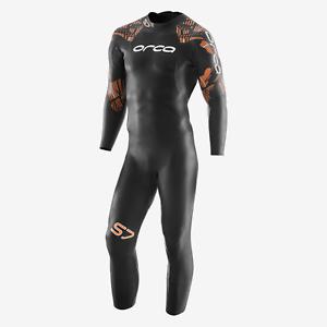 Brand New 2019 Orca S7 Men/'s Fullsleeve USAT Approved Triathlon Wetsuit