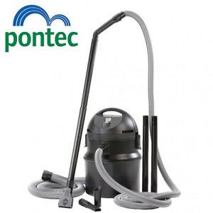 Pontec by OASE. Pondomatic pond vacuum hoover silt sludge waste. 1400 watts vac