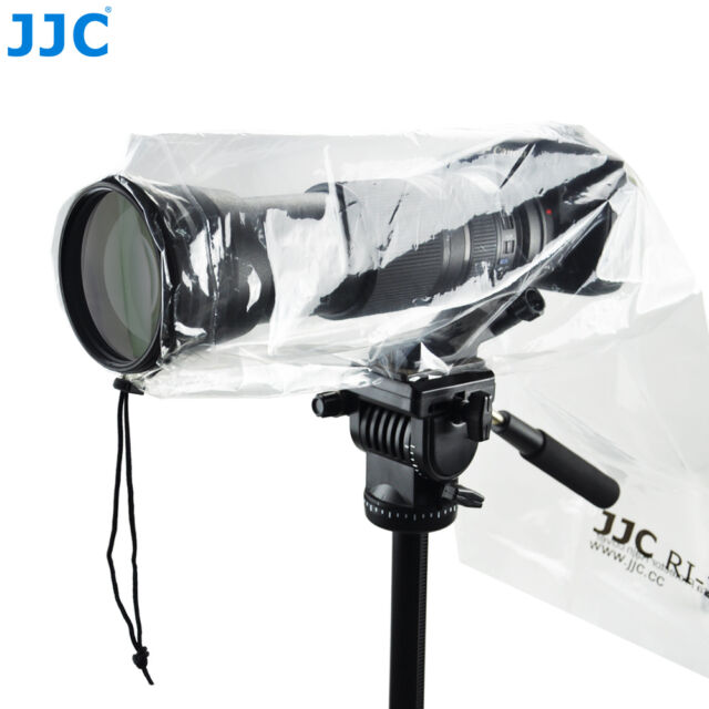 "JJC 2PCS Waterproof Rain Cover Coat Protector for DSLR Camera with Lens 18""x7"""