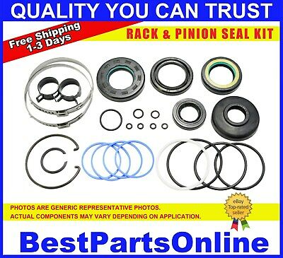 Power Steering Rack and Pinion Seal Kit for PORSCHE 928 1980-1990