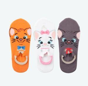 Pre-Order-Tokyo-Disney-Resort-Socks-Set-Marie-Toulouse-Berlioz-Ladies