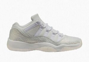 8ea6fc89b44270 Grade School Youth Size Nike Air Jordan Retro 11 Low Premium 897331 ...
