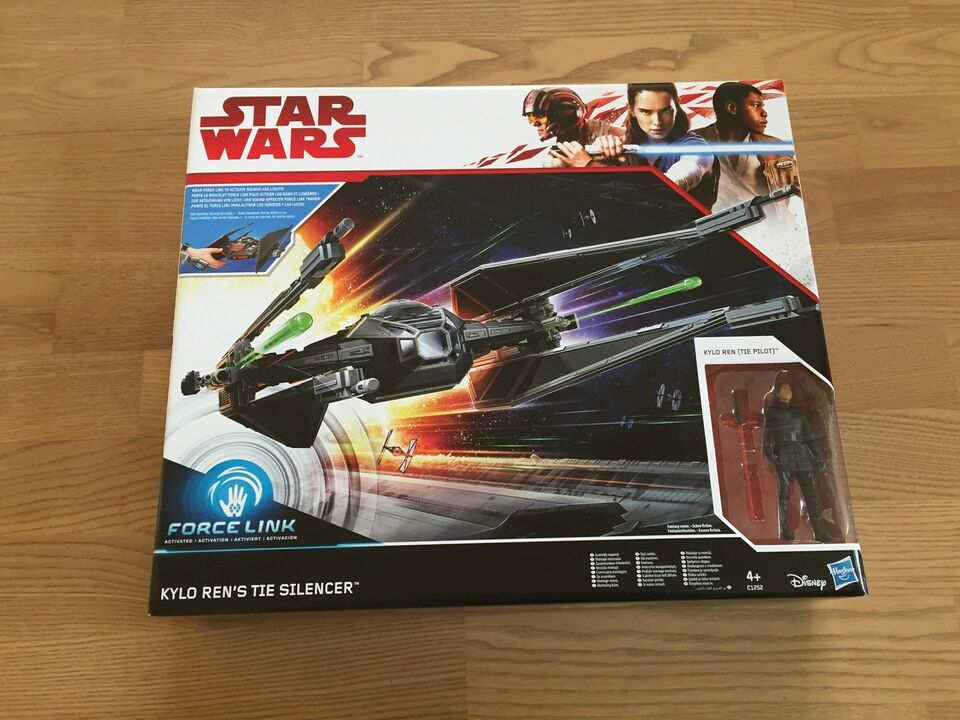 (SOLGT) NY Star Wars TIE SILENCER (Force Link), Hasbro Star