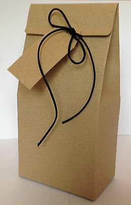 A pack 10 tuck end boxes, Gift or Wedding Favour Boxes, with free gift tags