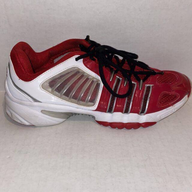 Adidas Vuelo Climacool Red White Black Athletic Sneakers Shoes Mens Size 9.5