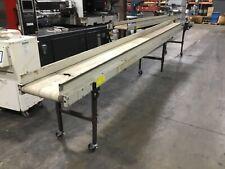 Emi Ddf 18 20 20 Adjustable Smooth Flat Belt Conveyor 20 Ft 115v 470bk