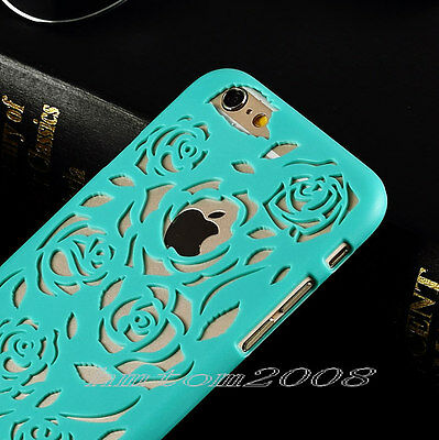 Pretty Hollow Pattern Back Hard Case Cover Skin for iPhone 5 5S /6 / 6 Plus