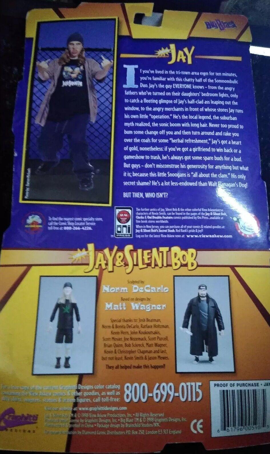 1998 BIG BLAST--JAY BLAST--JAY BLAST--JAY & SILENT BOB--JAY FIGURE (NEW) b5ecb9