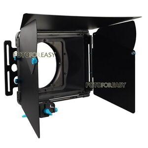 FOTGA-DP3000-Pro-Matte-Box-Sunshade-w-Donuts-for-15mm-Rod-DSLR-Rig-5D-II-III-7D