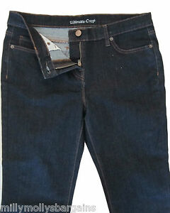 New-Womens-Blue-Ultimate-Crop-NEXT-Jeans-Size-10-8-6