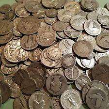 $ 1 Face Value Silver Mixed Lot of Halves, Quarters, Dimes & Silver Nickels Lot