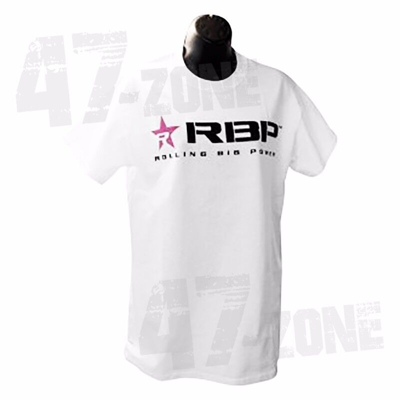 Edelbrock 2367 Racing T-Shirt White, Large
