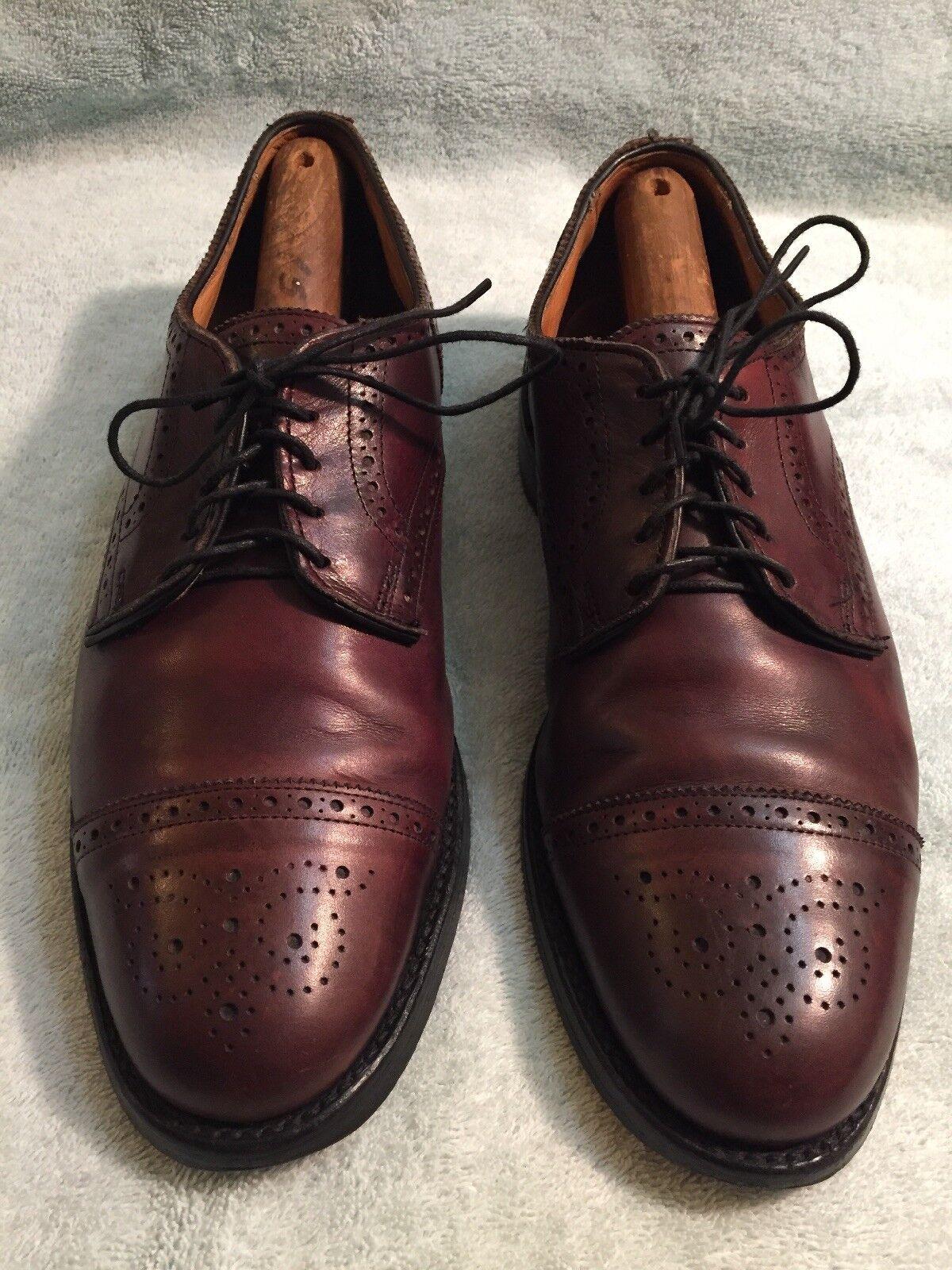 spedizione gratuita in tutto il mondo Allen Edmonds Edmonds Edmonds ,Lexington,  Burgandy Uomo Oxford scarpe Dimensione 9 D  negozio di sconto