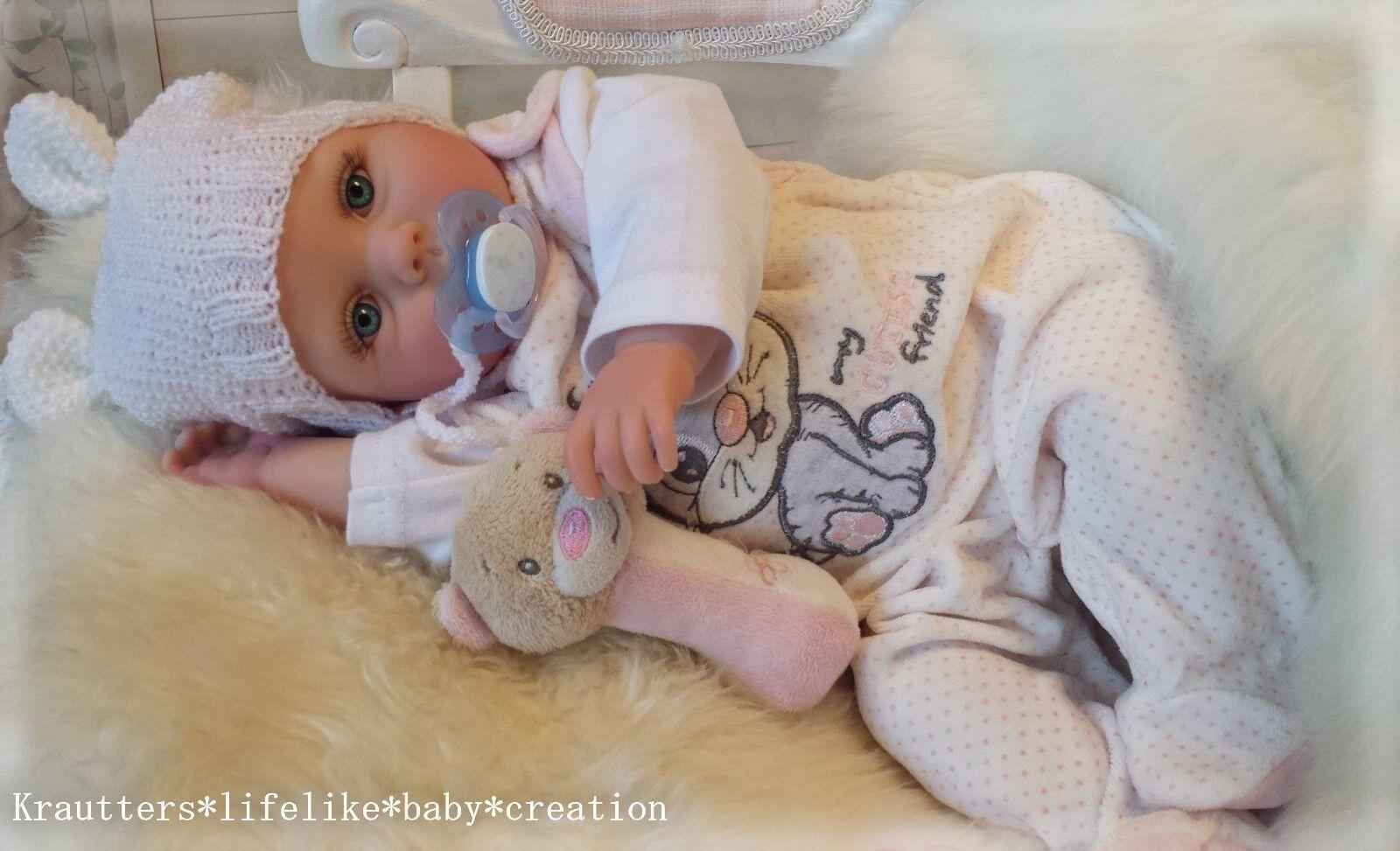 ✨♥Reborn Reallife Oster Oster Oster Baby BS v. U.L Krautter Babypuppe Künstlerpuppe♥✨ 7b6953