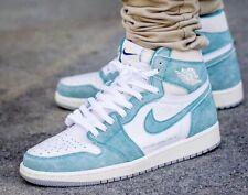 Nike Air Jordan 1 Retro High OG Sneakers for Men, Size 12 - Turbo  Green/Sail-White